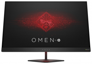 HP Omen 27 Monitor Photos